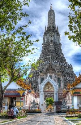 Hdr Tempio Wat Arun firma
